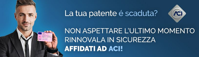 Banner rinnova Patenti